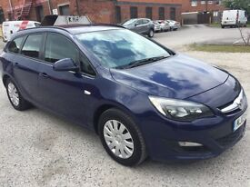 Vauxhall Astra estate car 2013 1.7 cdti company owned service history 12 months mot drives great