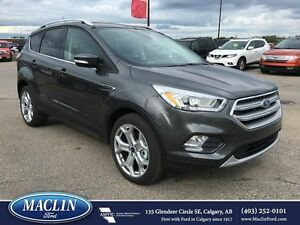 2017 Ford Escape Titanium, Heated Seats, Pano Moonroof, Nav