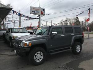 2008 Hummer H3 4X4, Remote Start, Roof Racks