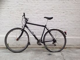 Black Raleigh Bike