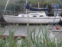 Atlanta Viking 28ft. bilge keel 1984 yacht