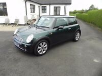 2005 MINI ONE well maintained. Great Colour. Loads of new parts and going well.
