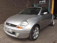 FORD STREET KA CONVERTABLE FULL LEATHER ***SPARES OR REPAIRS***