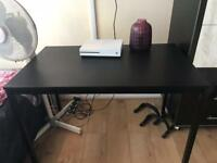 Black study/dining table