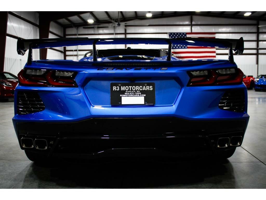 2021 Blue Chevrolet Corvette   | C7 Corvette Photo 4