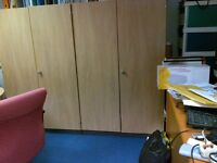 Filing and Storage Cupboard. Two units available. Sold as a single unit
