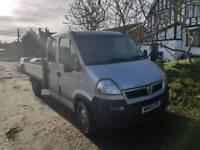 Vauxhall movano crew cab truck