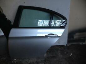Bmw e90 n/s rear driver side Titan silver complete door