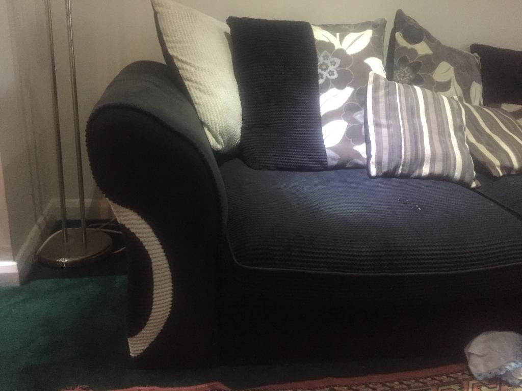 Sofa in great condition with a small mark