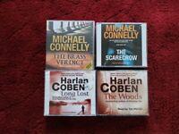 REDUCED - AUDIO BOOKS - HARLEN COBEN & MICHAEL CONNOLLY EN, MICHAEL CONNELLY