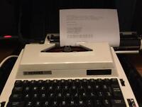 Hermes 505 electric typewriter