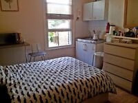 Bedsit in Manor House available short term (15th Dec - 6th Jan)