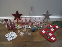 Artificial 6' Christmas Garland & Christmas Decorations