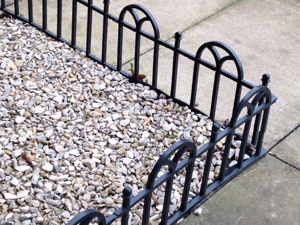 garden decorative used items slate gravel rockery stones edging