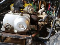 90cc automatic quad/pit bike engine