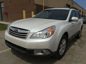2011 SUBARU  OUTBACK LEATHER/P.SUNROOF