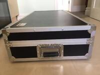 Tuff DJ Coffin FlightCase For DJ Record Decks And Mixer. Collection Only Due To Size / Weight