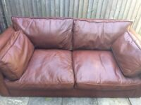 Leather Sofa.. very comfortable, been well looked after