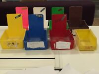 Work/case/tool trays - ideal for storing small components, storing jobs/cases. Dental lab / optical