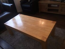 Coffee table and nest of tables for sale