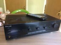 Amplifier hi-fi with remote
