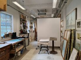 650 SQ FT PRIVATE GROUND FLOOR ARTIST STUDIO OR CREATIVE SPACE TO RENT IN BARBICAN , EC1