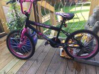 Zombie girls bmx bike