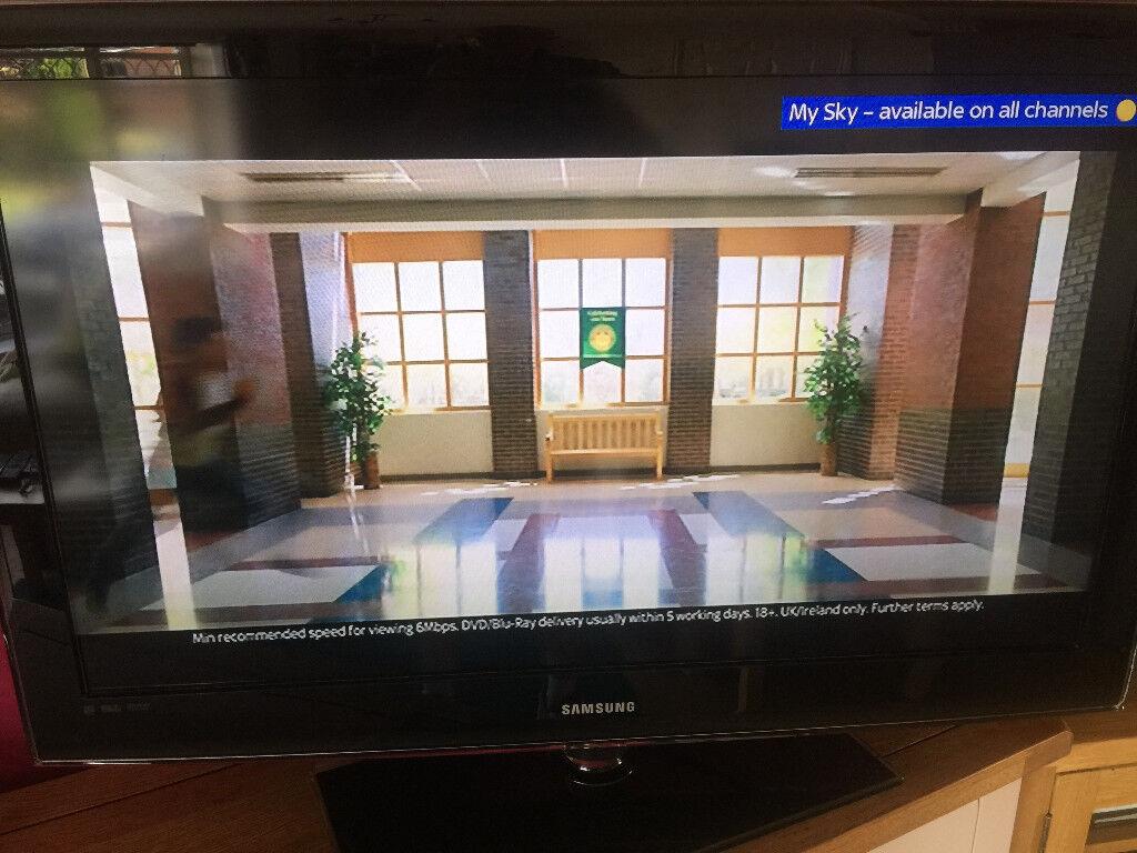 Samsung Lcd Tv Samsung Le40b550a5 40 Inch Full Hd 1080p