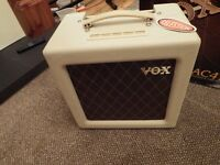 Vox AC4TV class A Valve amplifier for electric Guitar. Boxed