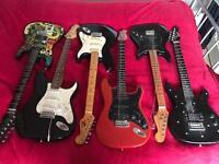 Job Lot Of Guitars for spares/repair