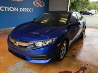 2017 Honda Civic LX AUTO/ AIR/ HEATED SEATS/ CRUISE/ REVERSE...