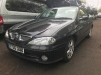renault megane privilege convertible 2001 2.0 petrol 3dr black - breaking for spares wheel nut
