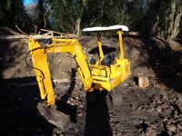 Mini digger hire with qualified operator