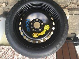 Pirelli spacesaver tyre Volvo C30