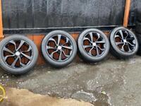 Vauxhall Corsa 16' alloy wheels
