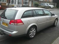 RARE V6 Vectra AUTO estate, fully loaded, heated leather seats, tow bar, MINT