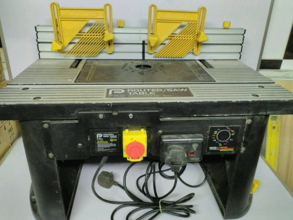 router table with router in bradford west yorkshire gumtree