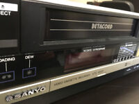 Sanyo Betacord VTC-6500 Betamax Video Recorder