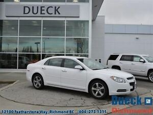 2012 Chevrolet Malibu LT  Accident Free