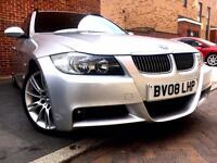 (((BMW 3 SERIES 325i M-sport AUTO Fully loaded FULL SERVICE HISTORY P/X)))