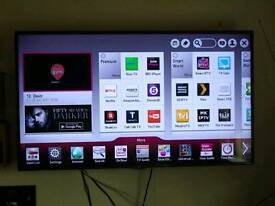 "LG 60"" 3D Smart TV with freeview. Comes with 3D glasses and Wall Mount"