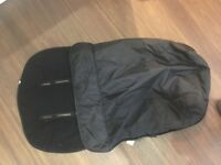New and unused black mothercare cosy toes