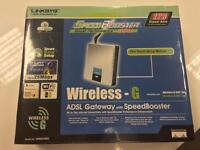 Linksys Wireless G Router -Brand New