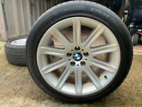 "BMW 19"" style 95 staggered alloy wheels 5x120"
