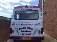 For transite ice cream van