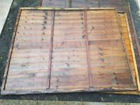 2 x 5ft fence panels for sale