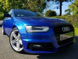 (Sepang Blue) 2015 Audi A4 2.0 Tdi 177bhp S Line Black Edition Plus, Sat Nav! Tech Pech! FINANCE