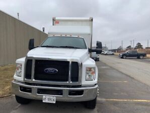 Ford F650 24ft box with slipper