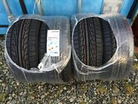 Set of 4 Brand New Nankang SNOW SV-2 235/40 R18 95V XL winter tyres