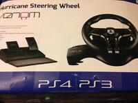 Ps4 steering wheel and pedals